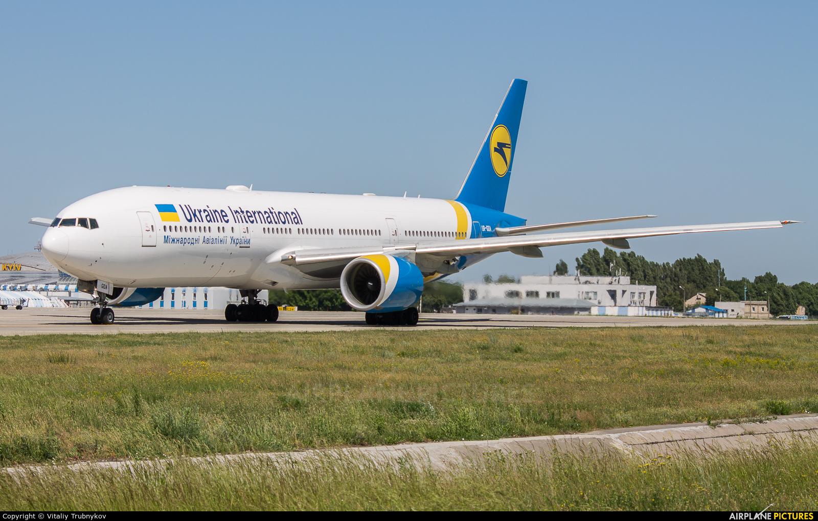 Ukraine International Airlines UR-GOA aircraft at Kyiv - Borispol