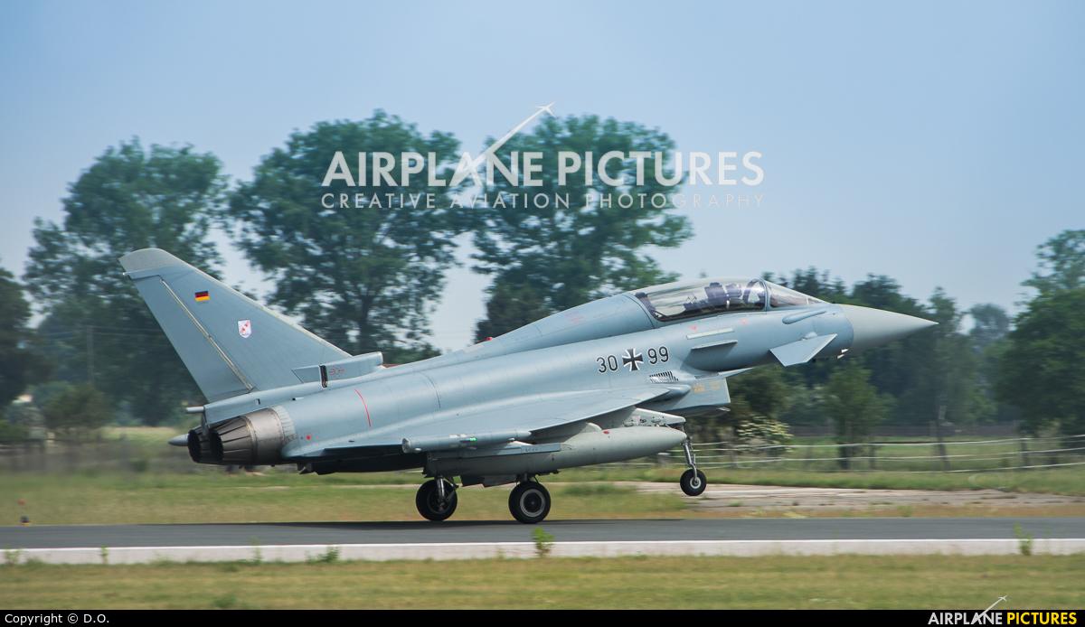 Germany - Air Force 30+99 aircraft at Neuburg - Zell