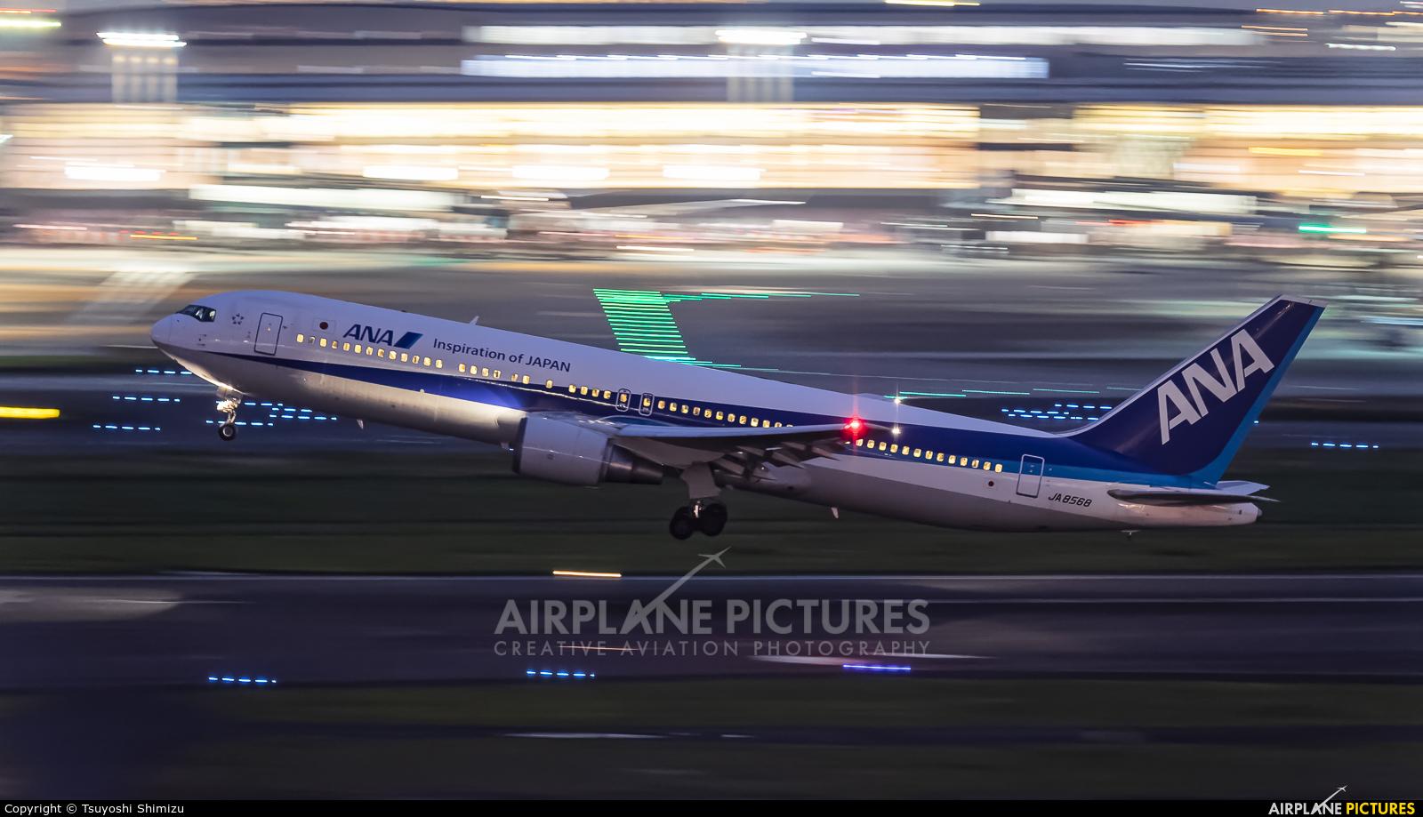 ANA - All Nippon Airways JA8568 aircraft at Tokyo - Haneda Intl