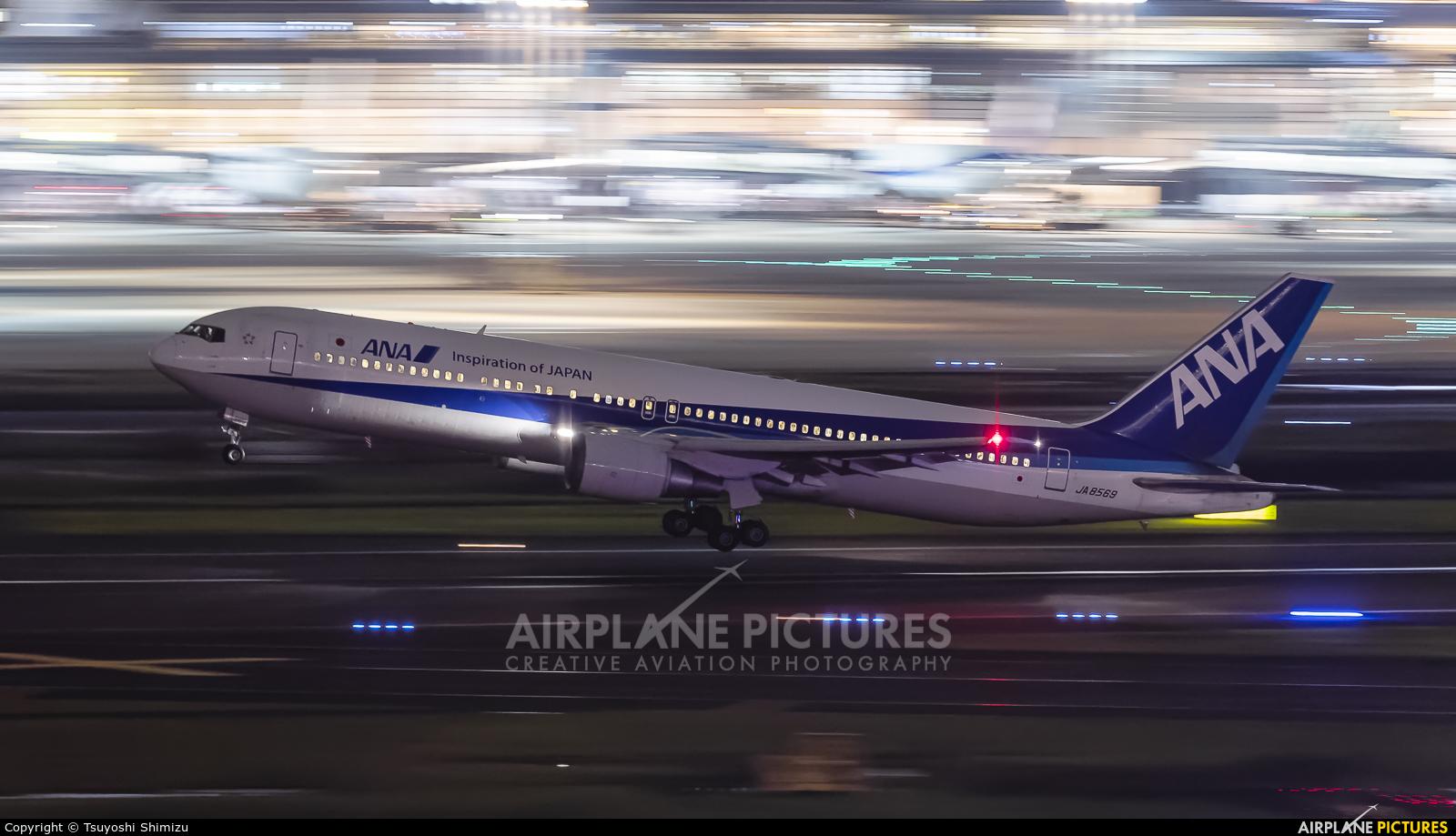 ANA - All Nippon Airways JA8569 aircraft at Tokyo - Haneda Intl