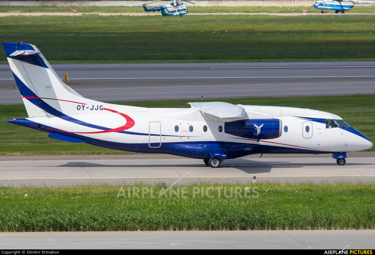 Sun Air OY-JJG aircraft at St. Petersburg - Pulkovo