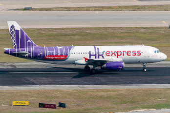 B-LCA - Hong Kong Express Airbus A320