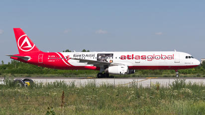 TC-ETN - Atlasglobal Airbus A321