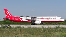 Atlasglobal A321 visited Craiova title=