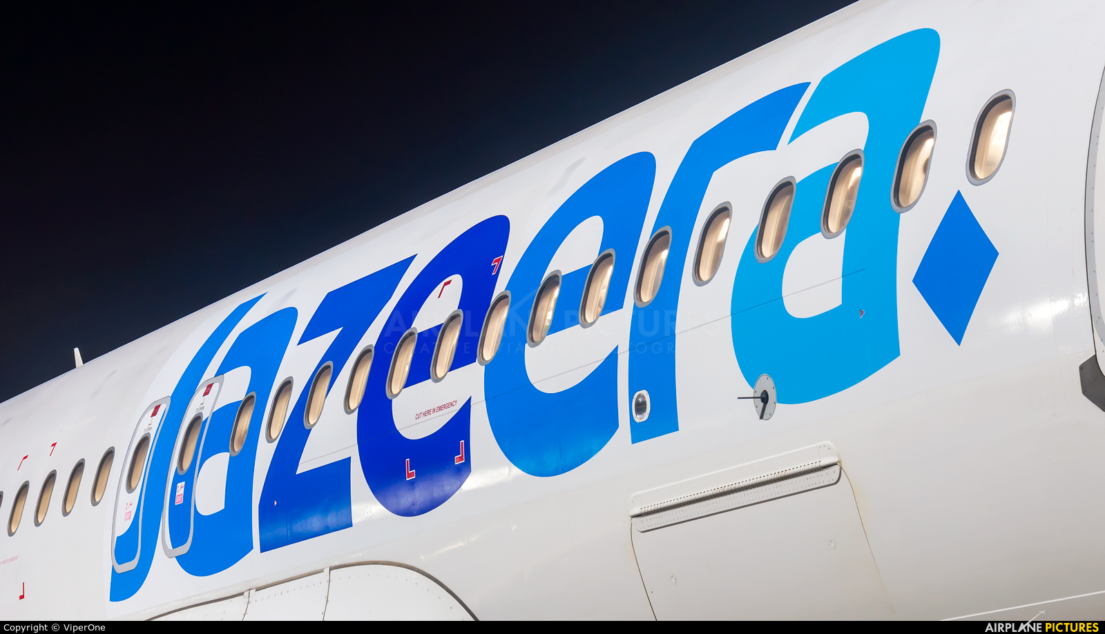 Jazeera Airways 9K-CAO aircraft at Mumbai - Chhatrapati Shivaji Intl