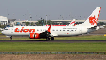 PK-LQG - Lion Airlines Boeing 737-8 MAX
