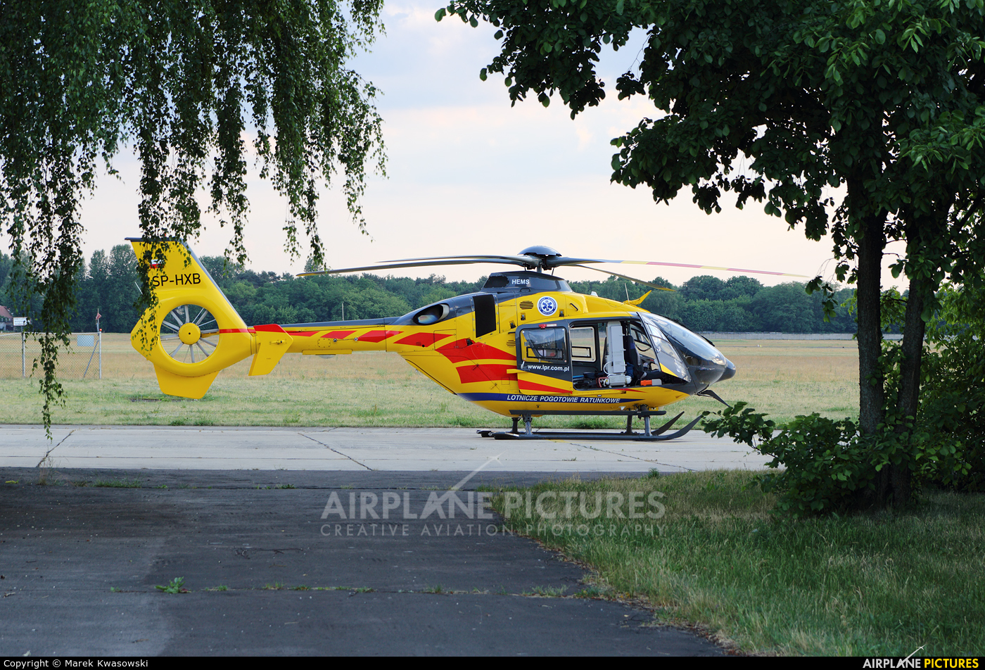 Polish Medical Air Rescue - Lotnicze Pogotowie Ratunkowe SP-HXB aircraft at Warsaw - Babice
