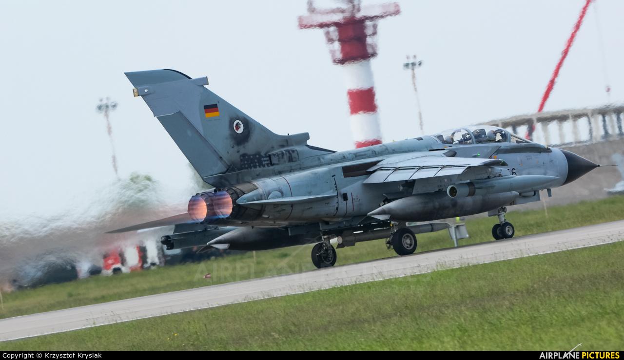 Germany - Air Force 46-56 aircraft at Poznań - Krzesiny