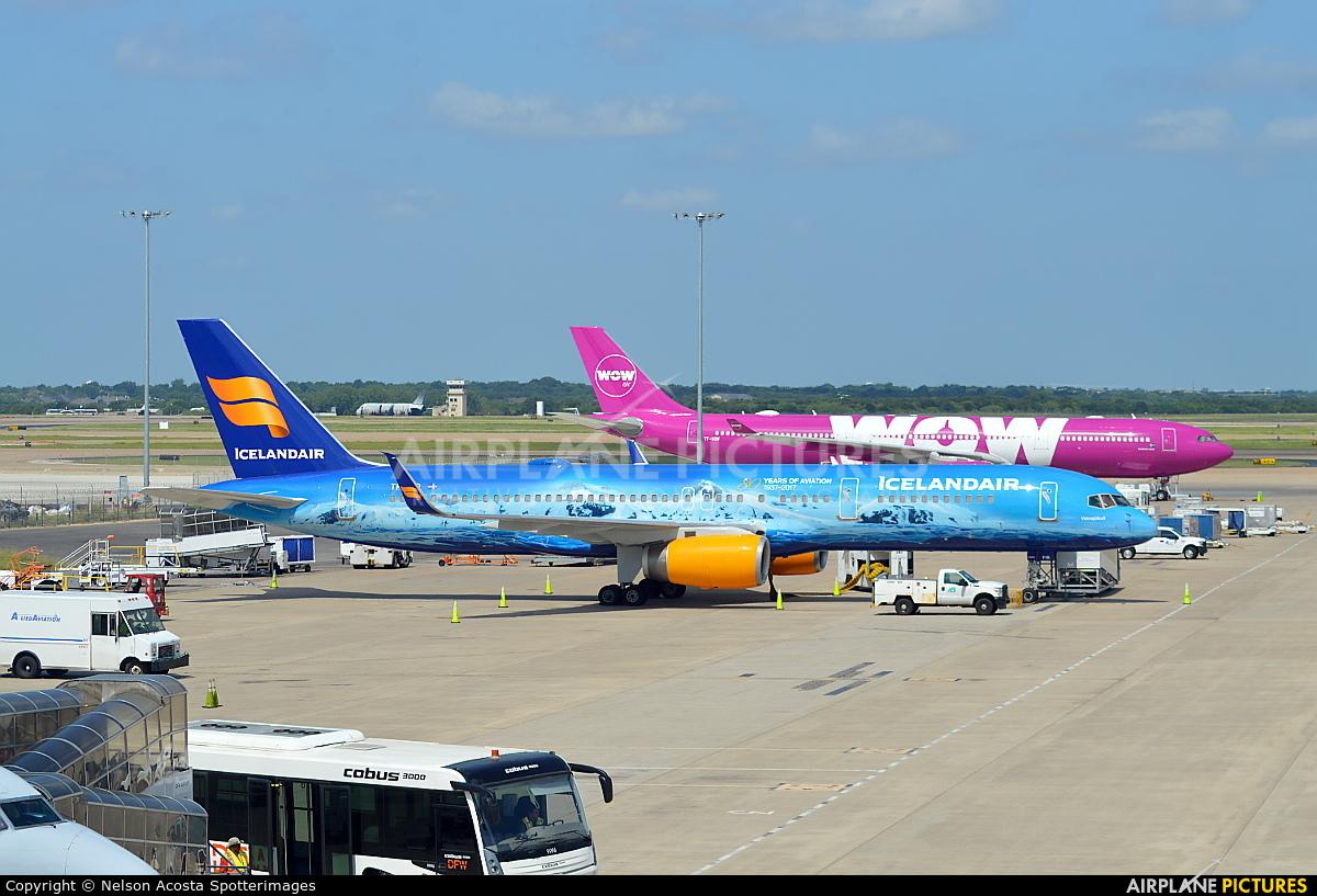Icelandair TF-FIR aircraft at Dallas - Fort Worth Intl