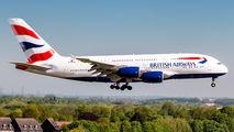 G-XLED - British Airways Airbus A380 aircraft