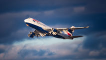 G-CIVV - British Airways Boeing 747-400 aircraft