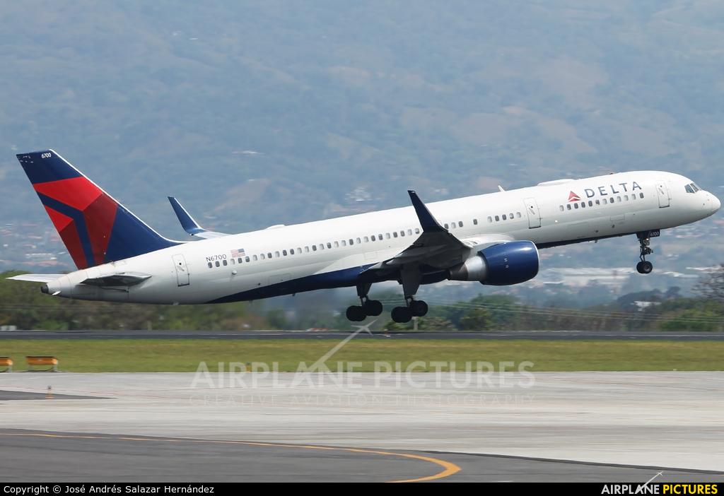 Delta Air Lines N6700 aircraft at San Jose - Juan Santamaría Intl