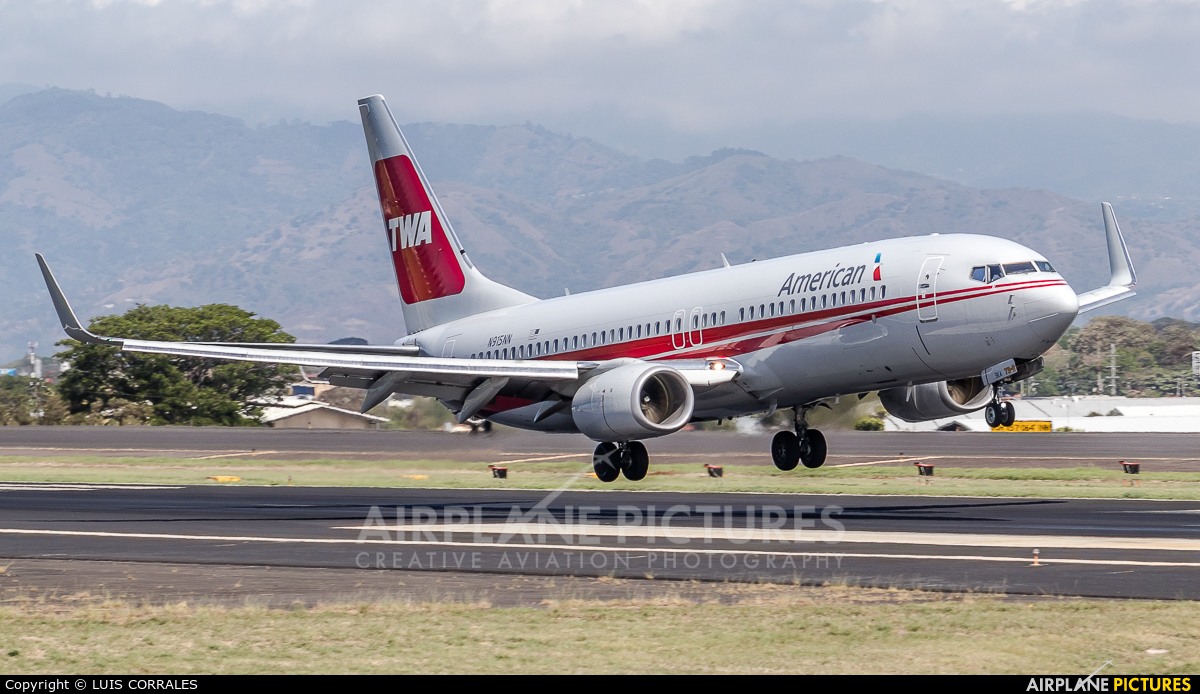 American Airlines N915NN aircraft at San Jose - Juan Santamaría Intl