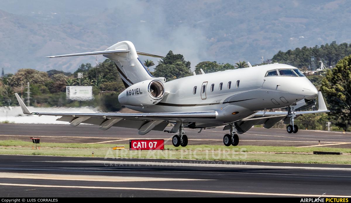 Private N801EL aircraft at San Jose - Juan Santamaría Intl