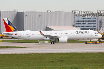 D-AVZM - Philippines Airlines Airbus A321 NEO