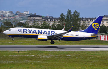 EI-FTY - Ryanair Boeing 737-8AS