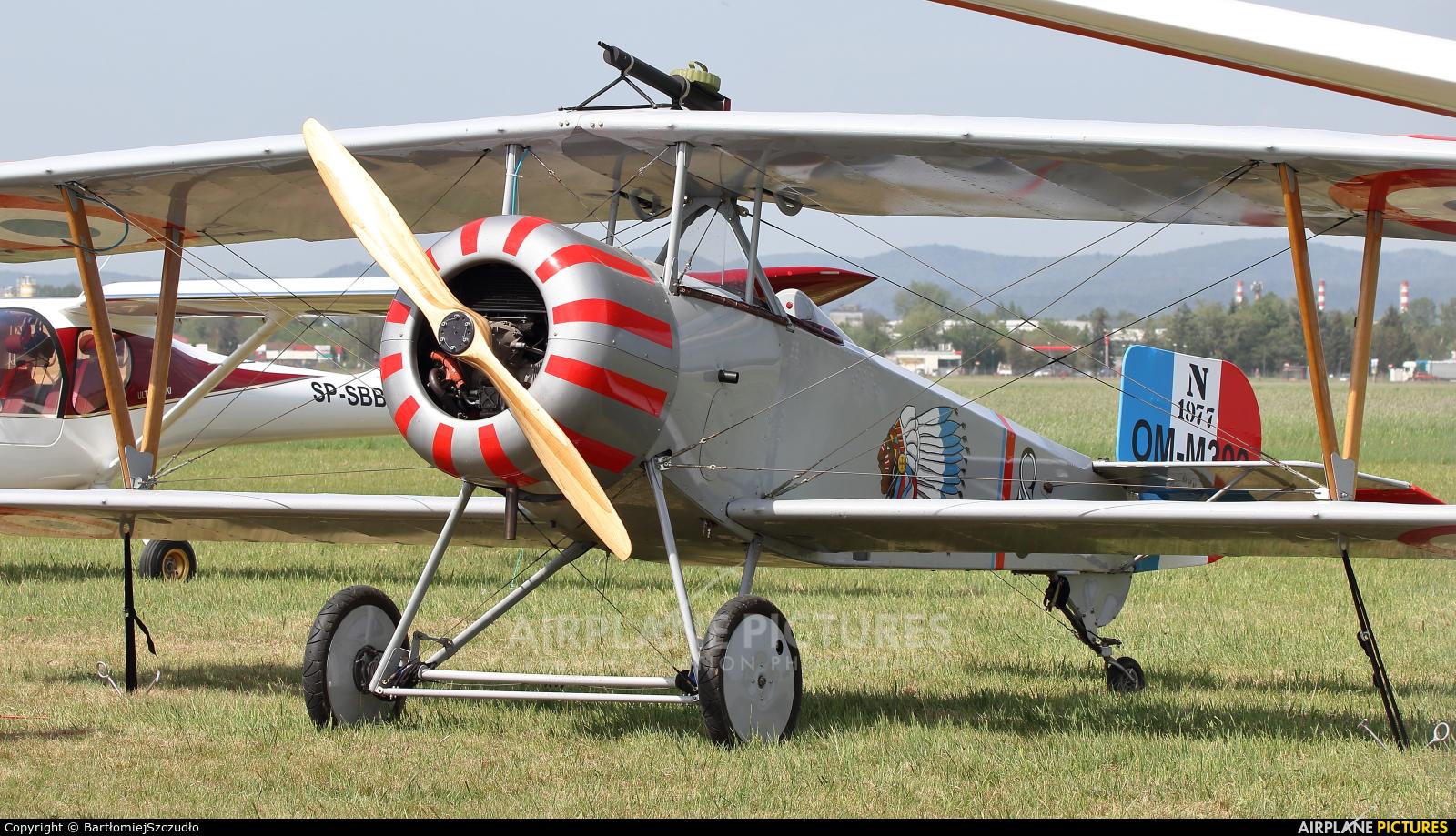 Private OM-M300 aircraft at Krosno