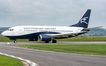 9H-OME - Montenegro Airlines Boeing 737-500