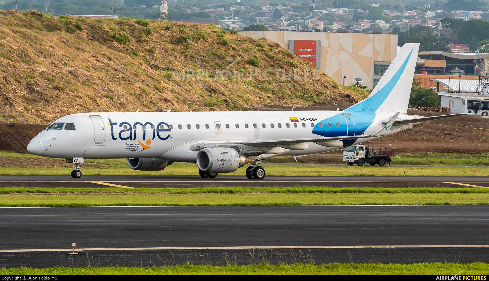 TAME HC-CGF aircraft at San Jose - Juan Santamaría Intl