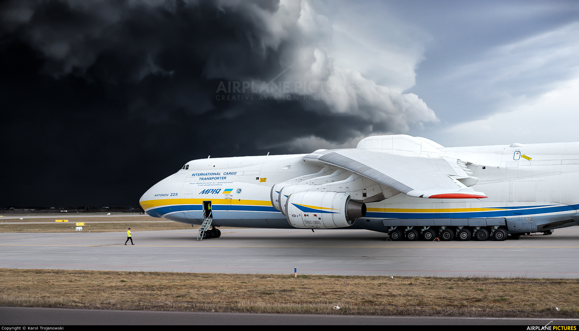 Antonov Airlines /  Design Bureau UR-82060 aircraft at Leipzig - Halle