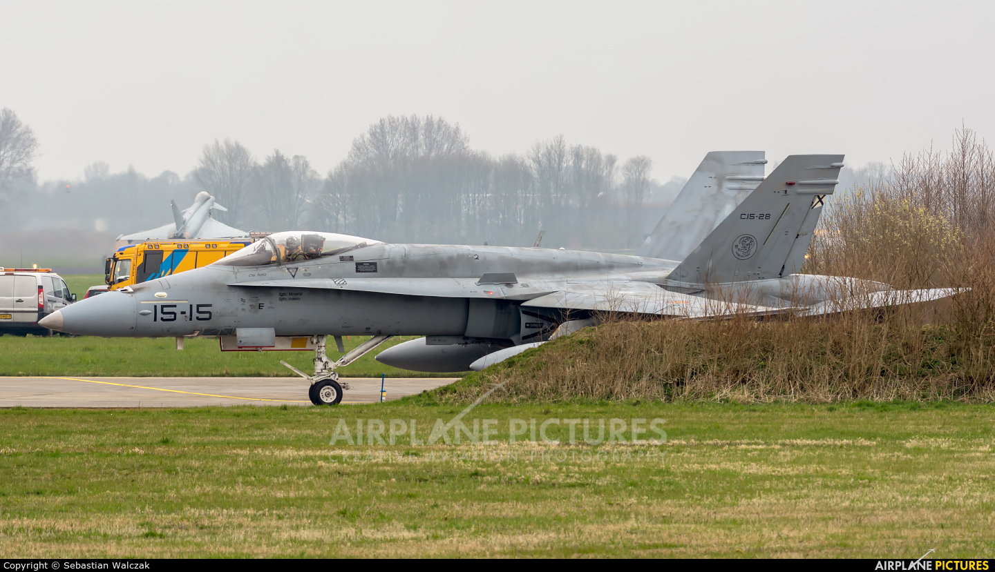 Spain - Air Force C.15-28 aircraft at Leeuwarden