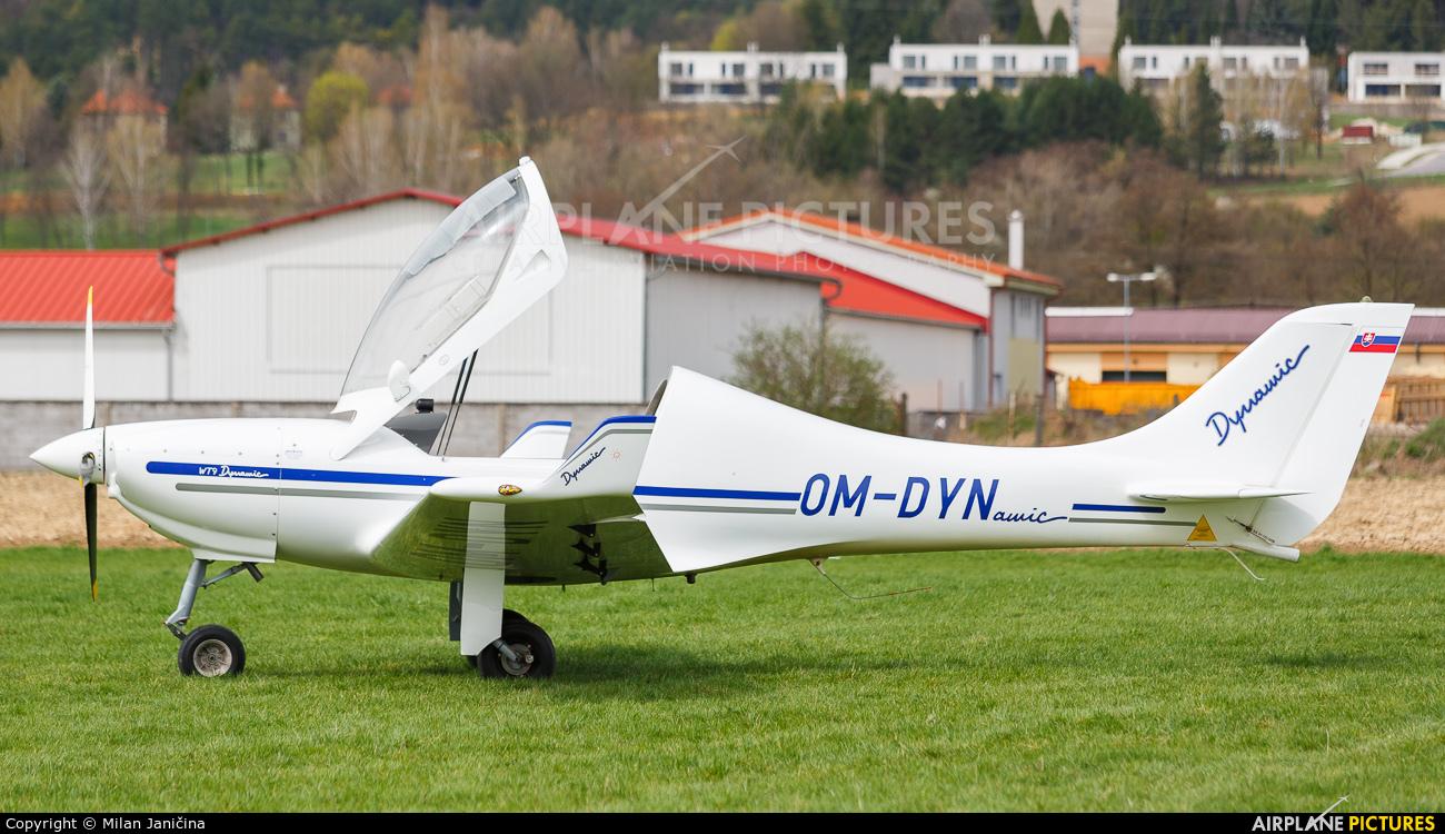 Private OM-DYN aircraft at Prievidza