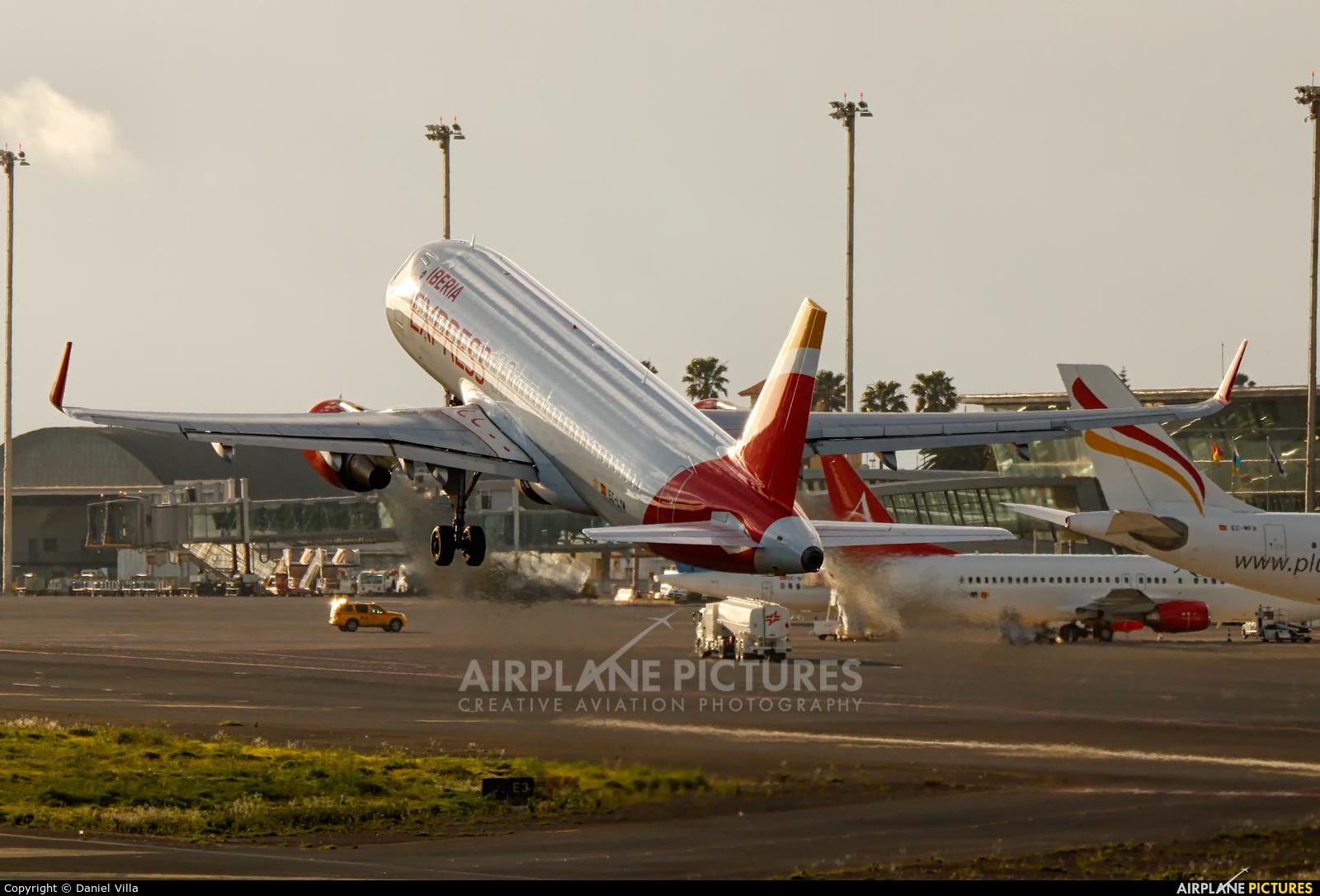 Iberia Express EC-LYM aircraft at Tenerife Norte - Los Rodeos
