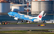 JA05RK - JAL - Japan Transocean Air Boeing 737-800 aircraft