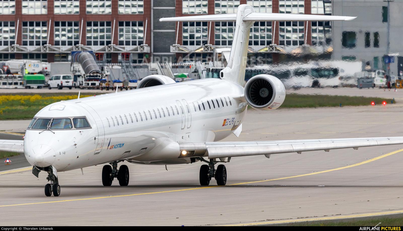 Air Nostrum - Iberia Regional EC-LPG aircraft at Frankfurt