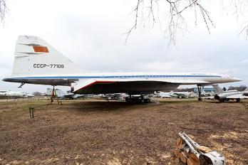 CCCP-77106 - Aeroflot Tupolev Tu-144