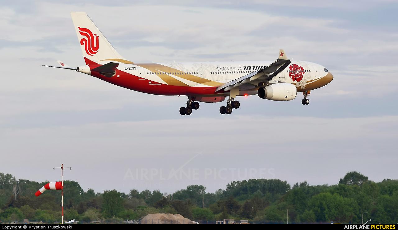Air China B-6075 aircraft at Warsaw - Frederic Chopin