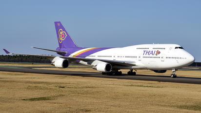 HS-TGZ - Thai Airways Boeing 747-400