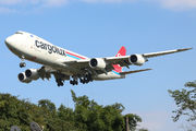 LX-VCK - Cargolux Boeing 747-8F aircraft