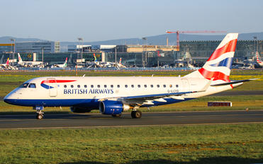 G-LCYD - British Airways - City Flyer Embraer ERJ-170 (170-100)