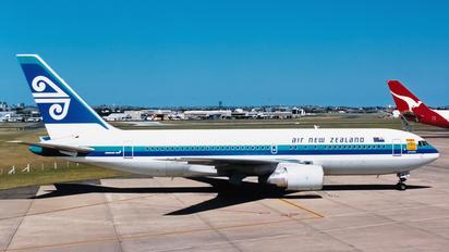 ZK-NBA - Air New Zealand Boeing 767-200ER