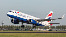 G-EUYV - British Airways Airbus A320 aircraft