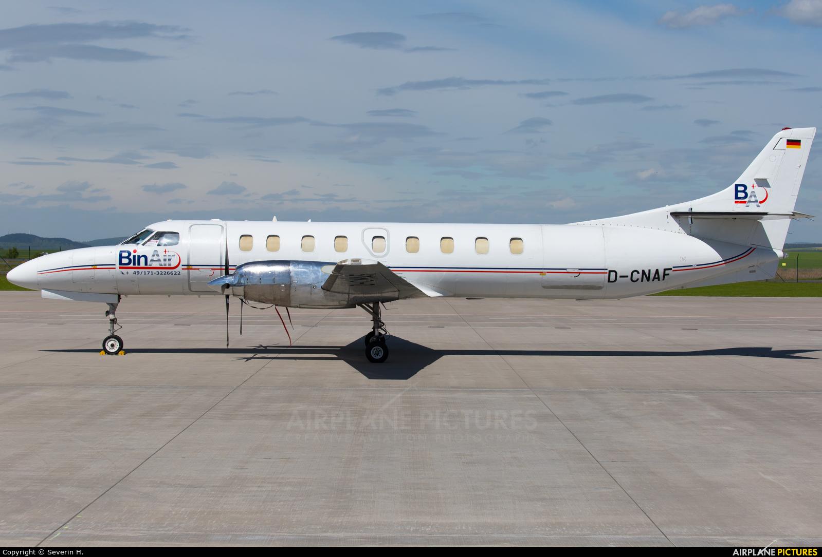 Bin Air D-CNAF aircraft at Kassel-Calden