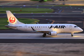 JA215J - J-Air Embraer ERJ-170 (170-100)