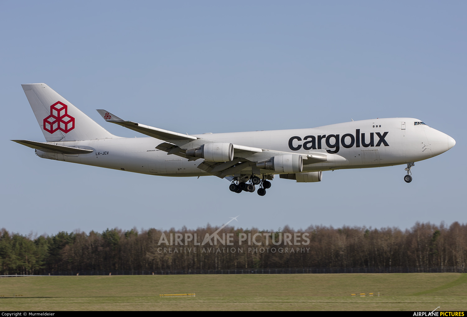 Cargolux LX-JCV aircraft at Luxembourg - Findel