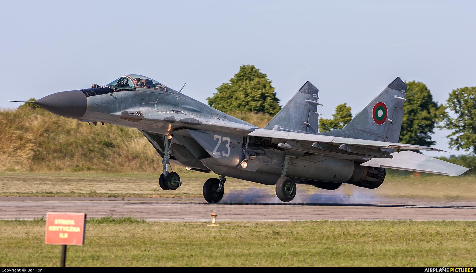 Bulgaria - Air Force 23 aircraft at Malbork