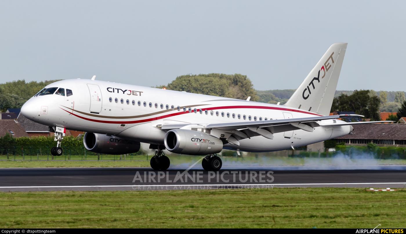 CityJet EI-FWC aircraft at Brussels - Zaventem