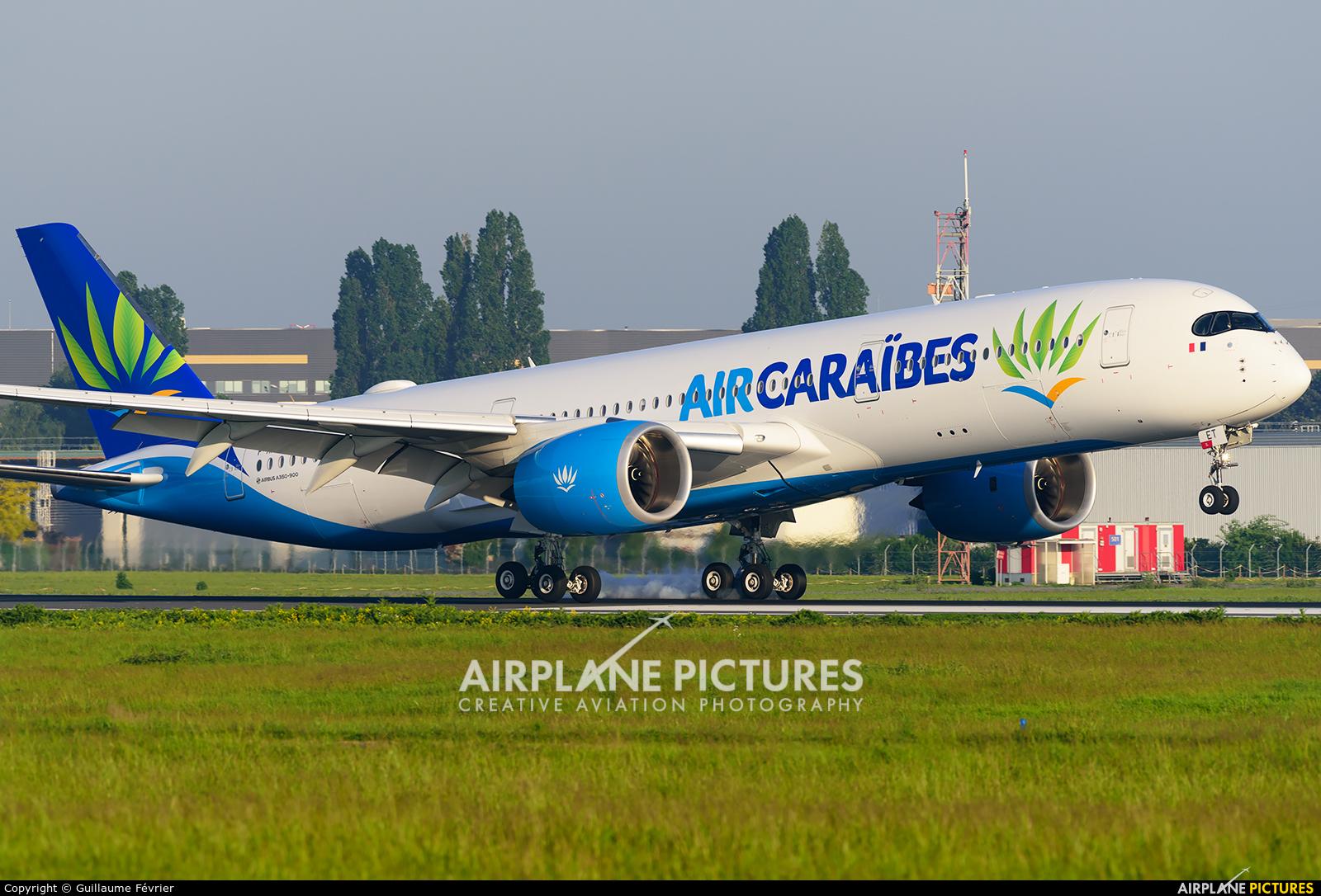 Air Caraibes F-HNET aircraft at Paris - Orly