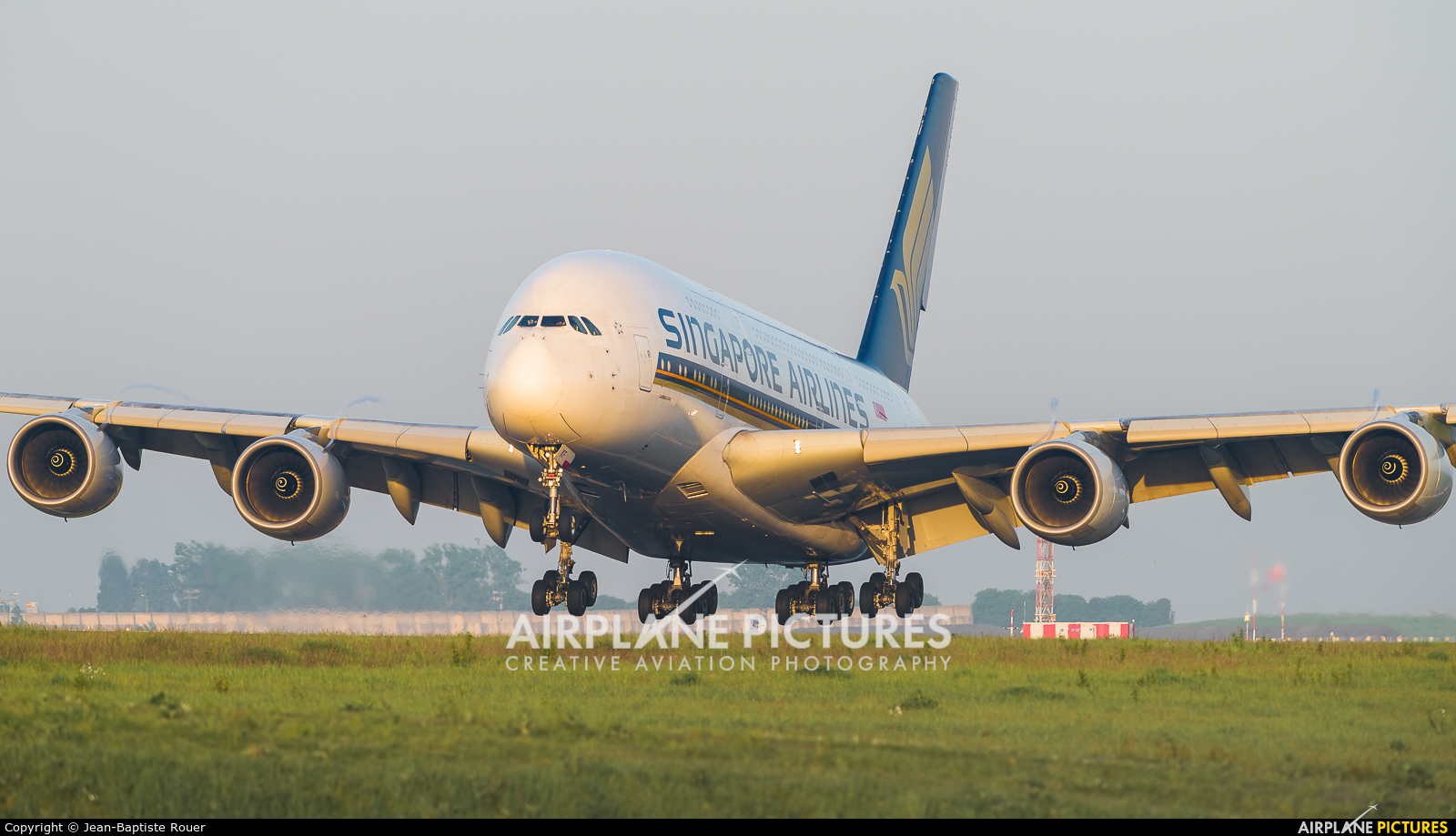 Singapore Airlines 9V-SKF aircraft at Paris - Charles de Gaulle