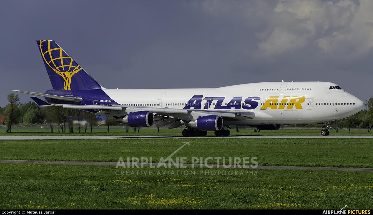 Atlas Air N465MC aircraft at Wrocław - Copernicus