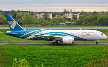 A4O-SA - Oman Air Boeing 787-8 Dreamliner