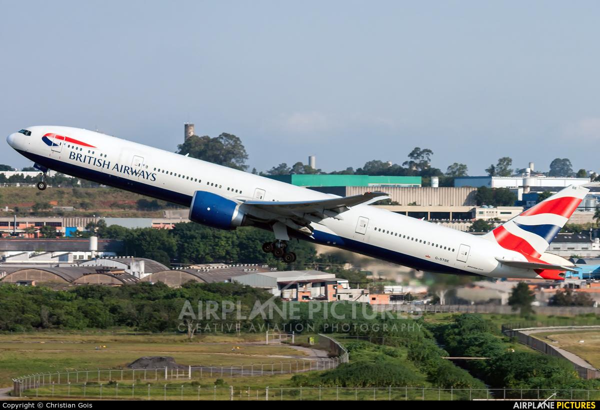 British Airways G-STBE aircraft at São Paulo - Guarulhos