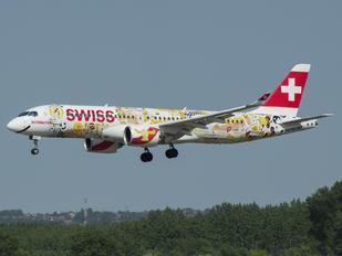 HB-CJA - Swiss Bombardier CS300