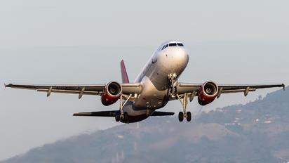 N680TA - TACA Airbus A320