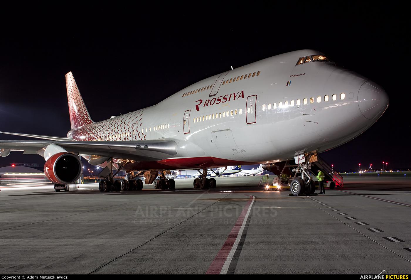 Rossiya EI-XLM aircraft at Katowice - Pyrzowice