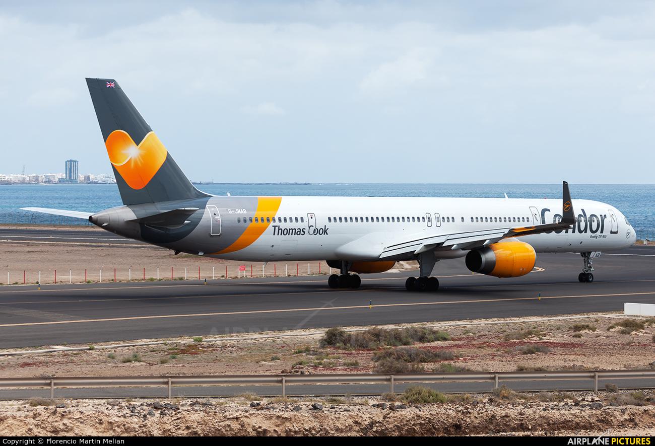 Condor G-JMAB aircraft at Lanzarote - Arrecife